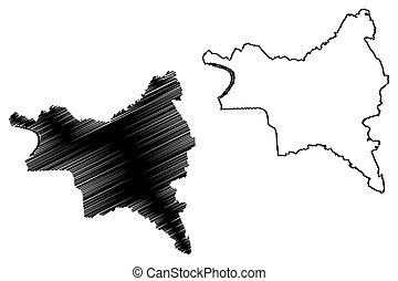 τμήμα , seine-saint-denis, εικόνα , γράφω απροσεκτώς , region), μέγα δίκτυον , μικροβιοφορέας , ile-de-france , γαλλικά δημοκρατία , denis, άγιος , δραμάτιο , (france, χάρτηs