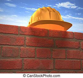 τοίχοs , άγρια καπέλο