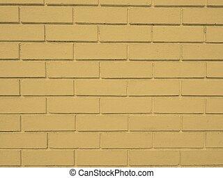 τοίχοs , άσπρο , καστανόχρους , τούβλο , φόντο