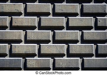 τοίχοs , από μπετόν κορμός