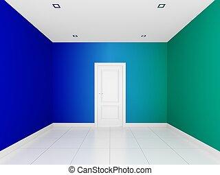 τοίχοs , δωμάτιο , αδειάζω , γραφικός