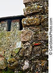 τοίχοs , κάστρο