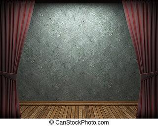 τοίχοs , μπετό , γριά