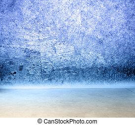 τοίχοs , τσιμεντένιο πάτωμα
