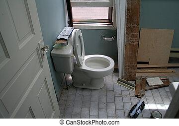 τουαλέτα , ανακαίνιση
