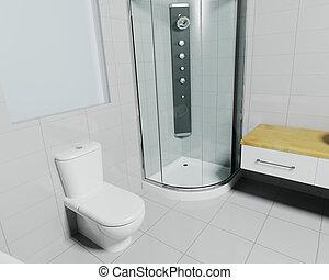 τουαλέτα , σύγχρονος