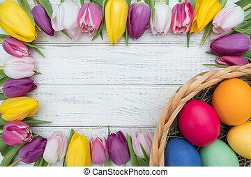 τουλίπα , αυγά , πόσχα