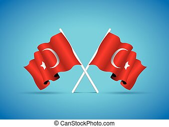 τουρκία , εθνική σημαία