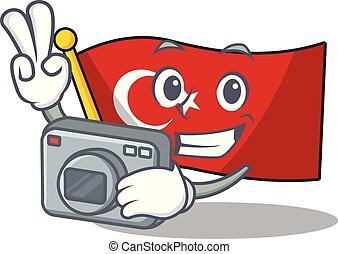 τουρκία , φωτογράφος , σχήμα , σημαία , γουρλίτικο ζώο