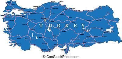 τουρκία , χάρτηs