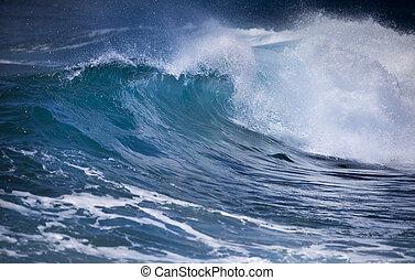 του ωκεανού ανεμίζω