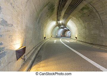 τούνελ