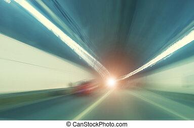 τούνελ , συγκινητικός , γρήγορα
