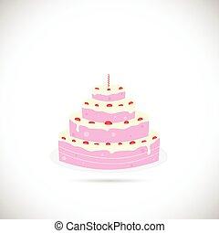 τούρτα γενεθλίων , εικόνα