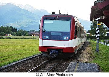 τρένο , ηλεκτρικός