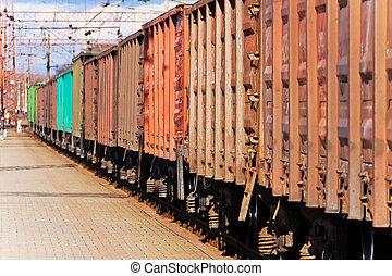 τρένο , φορτίο