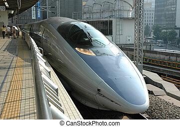 τρένο , shinkansen