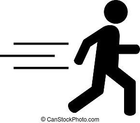 τρέξιμο , άντραs , εικόνα