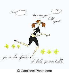 τρέξιμο , γυναίκα