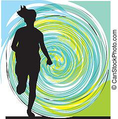 τρέξιμο , γυναίκα , εικόνα