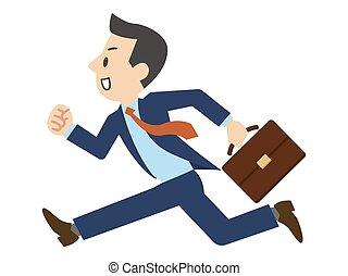 τρέξιμο , εικόνα , επιχειρηματίας