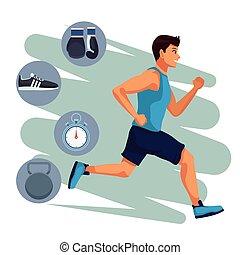 τρέξιμο , καταλληλότητα , άντραs