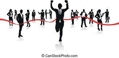 τρέξιμο , businessmen
