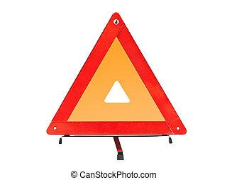 τρίγωνο , αυτοκίνητο , - , σήμα , παραγγελία , κόκκινο