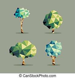 τρίγωνο , αφαιρώ , θέτω , δέντρο
