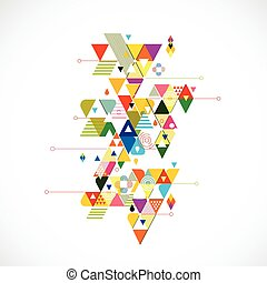 τρίγωνο , γραφικός , αφαιρώ , εικόνα , δημιουργικός , φόντο , μικροβιοφορέας