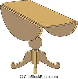 τραπέζι , ξύλινος