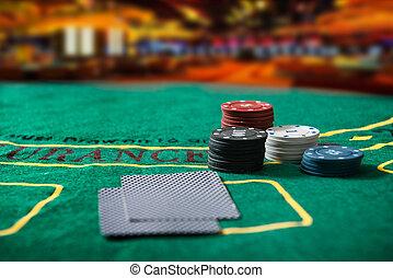 τραπέζι , πόκερ , καζίνο απόκομμα