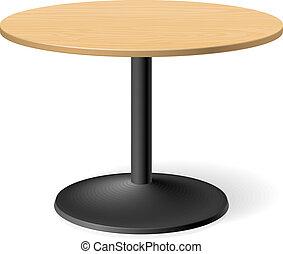 τραπέζι , στρογγυλός