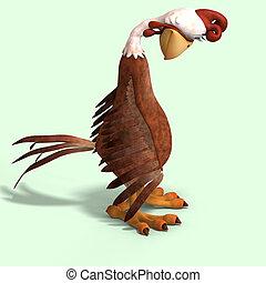 τρελός , γελοιογραφία , κοτόπουλο