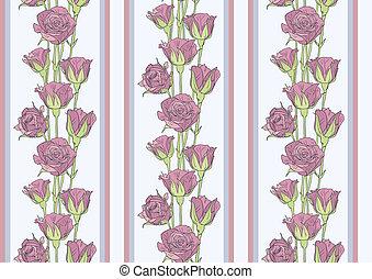 τριαντάφυλλο , ταπετσαρία , seamless