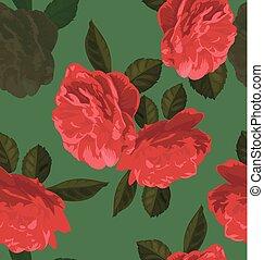 τριαντάφυλλο , seamless, πρότυπο