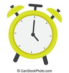 τρομάζω , απομονωμένος , ρολόι