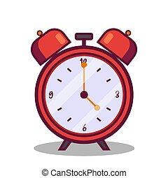 τρομάζω , εικόνα , γριά , ρολόι , μικροβιοφορέας , κόκκινο