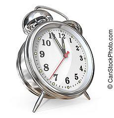 τρομάζω , clock.
