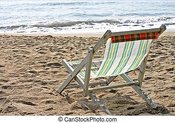 τροπικός , έδρα , άμμος ακρογιαλιά