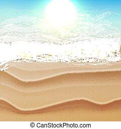 τροπικός , ήλιοs , παραλία , θάλασσα