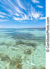 τροπικός , θάλασσα , μέσα , isla mujeres , μεξικό