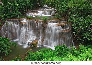 τροπικός , καταρράχτης , rainforest
