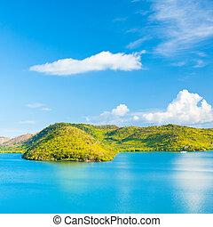 τροπικός , λιμνοθάλασσα