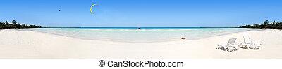 τροπικός , πανόραμα , παραλία