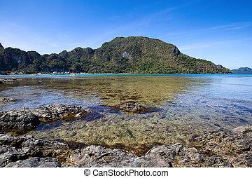 τροπικός , el , φιλιππίνες , παραλία , nido