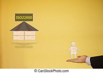 τροφή, διεύθυνση, ασφάλεια,  iso22000,  specifying