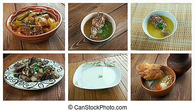 τροφή , κουζίνα , θέτω , ανατολικός