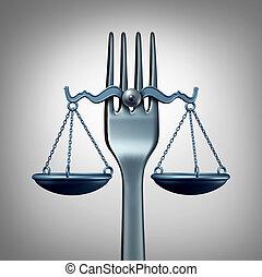 τροφή , νόμοs