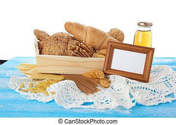 τροφή , φόντο. , διαφορετικός , bread.